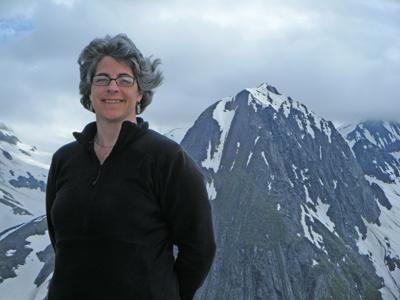 cynthia in alps